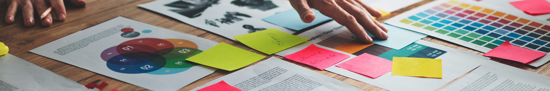 Bildbearbeitung, Composings und Retuschen, Datenprüfung und -korrektur nach den Standards der Druckindustrie, Erstellung von High-End-Druck-PDFs für Premium-Qualität im Druck